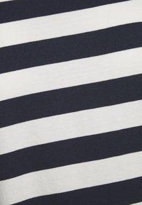Madewell - NORTHSIDE VINTAGE TEE IN IRON MAN STRIPE - Print T-shirt - dark baltic - 3