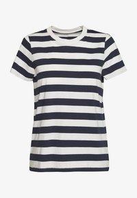 Madewell - NORTHSIDE VINTAGE TEE IN IRON MAN STRIPE - Print T-shirt - dark baltic - 2
