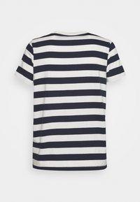 Madewell - NORTHSIDE VINTAGE TEE IN IRON MAN STRIPE - Print T-shirt - dark baltic - 1