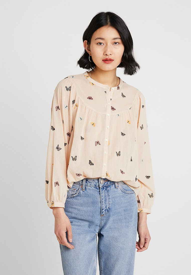 Madewell - BALLOON SLEEVE CRITTER - Blouse - parchment