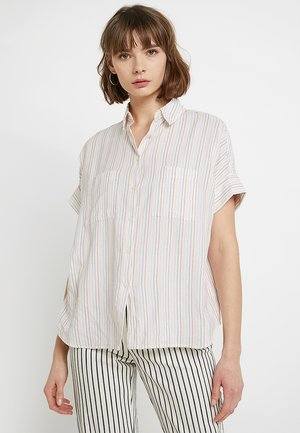 COURIER STRIPE - Overhemdblouse - pale parchment maddie