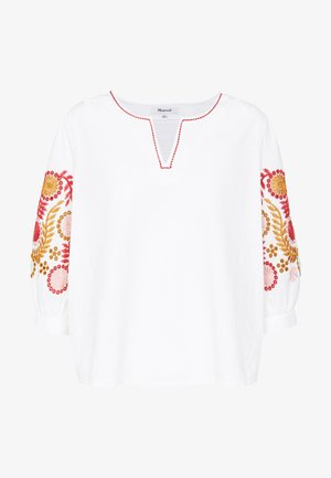 EMBROIDERED SLEEVE - Blouse - lighthouse