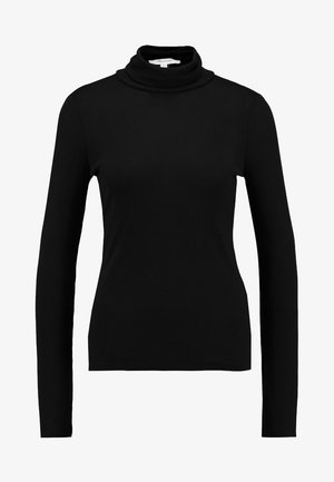 GARBANZO TURTLENECK - Top s dlouhým rukávem - true black