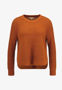 Madewell - KATE MIGRATION STITCH CREW - Pullover - golden pecan - 3