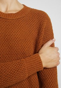 Madewell - KATE MIGRATION STITCH CREW - Pullover - golden pecan - 4