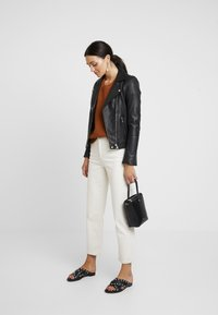 Madewell - KATE MIGRATION STITCH CREW - Pullover - golden pecan - 1
