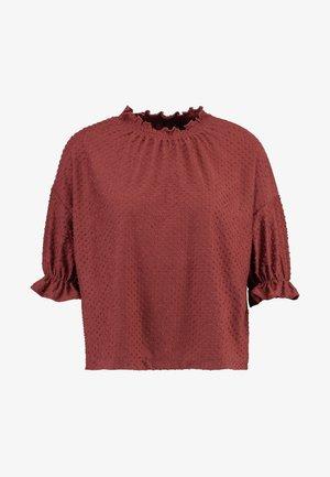 JUJU - Print T-shirt - burnished mahogany