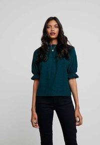 Madewell - JUJU - Print T-shirt - smoky spruce - 0