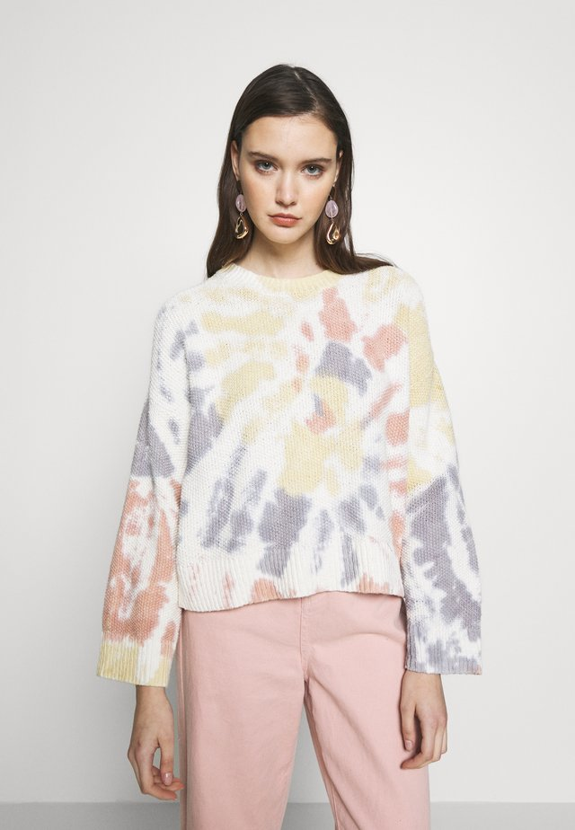 BAXTER TIE DYE WIDE SLEEVE  - Felpa - lighthouse