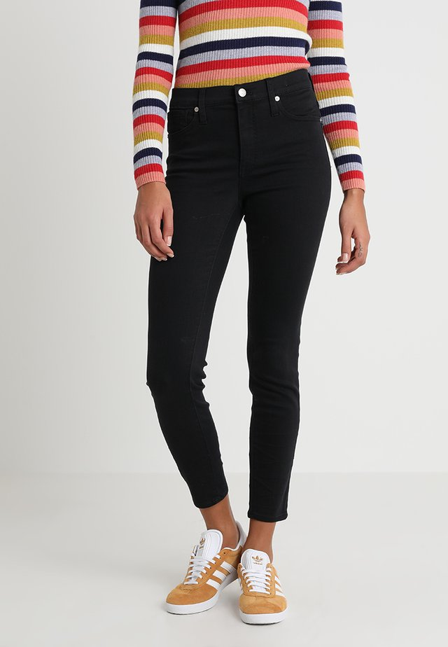 HIGH RISE - Jeans Skinny Fit - lunar