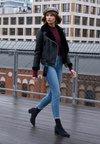 Madewell - HIGH RISE - Jeans Skinny Fit - blue denim