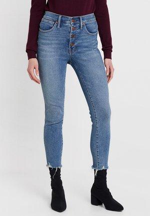 HIGH RISE - Jeans Skinny Fit - blue denim