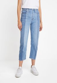 Madewell - NOVELTY CLASSIC IN - Straight leg jeans - clairmont wash - 0