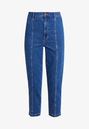 PIN PANT WITH SEAMING IN - Slim fit jeans - fernhill wash