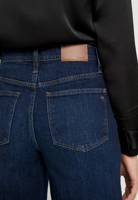 Madewell - BUTTON FRONT WIDE LEG CROP - Flared Jeans - hayes wash - 5