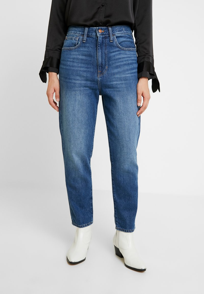 Madewell - MOM IN STRATFIELD - Slim fit jeans - stratfield wash
