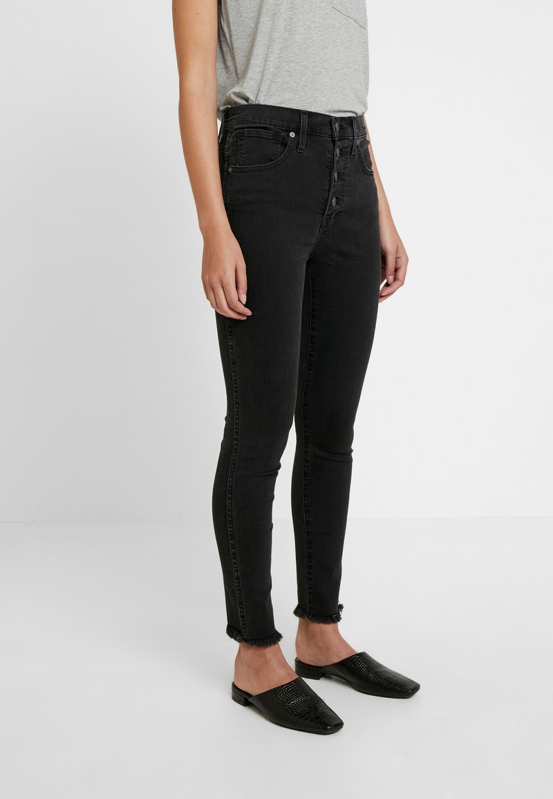Madewell - HIGH RISE - Skinny džíny - berkeley wash