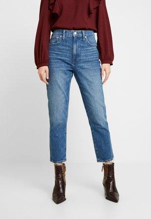 HIGH RISE SLIM BOYJEAN IN MITSUI - Straight leg jeans - light-blue denim