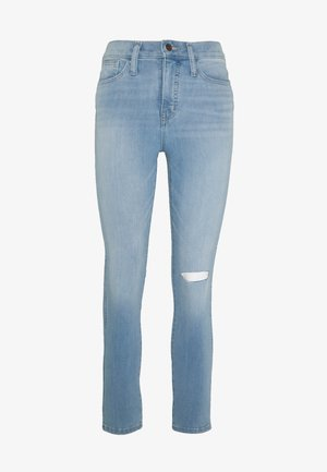 ROADTRIPPER IN LIGHT WASH W/ KNEE SLIT RAW HEM CHANGE TO - Slim fit jeans - ashburn