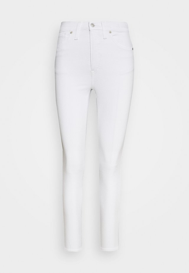 HIGH RISE IN CLEAN - Jeansy Skinny Fit - pure white
