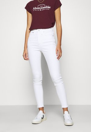 HIGH RISE IN CLEAN - Jeans Skinny Fit - pure white