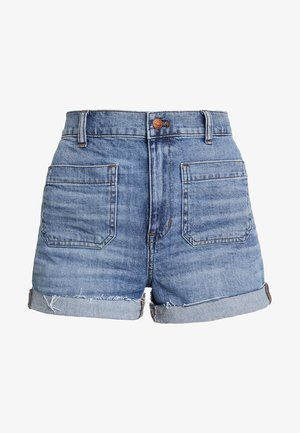 PATCH POCKET EDITION - Jeans Shorts - beasley wash