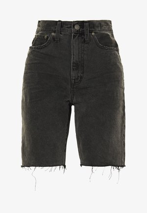 HIGH RISE MID LENGTH SHORTS IN ENCINO - Jeansshorts - encino wash