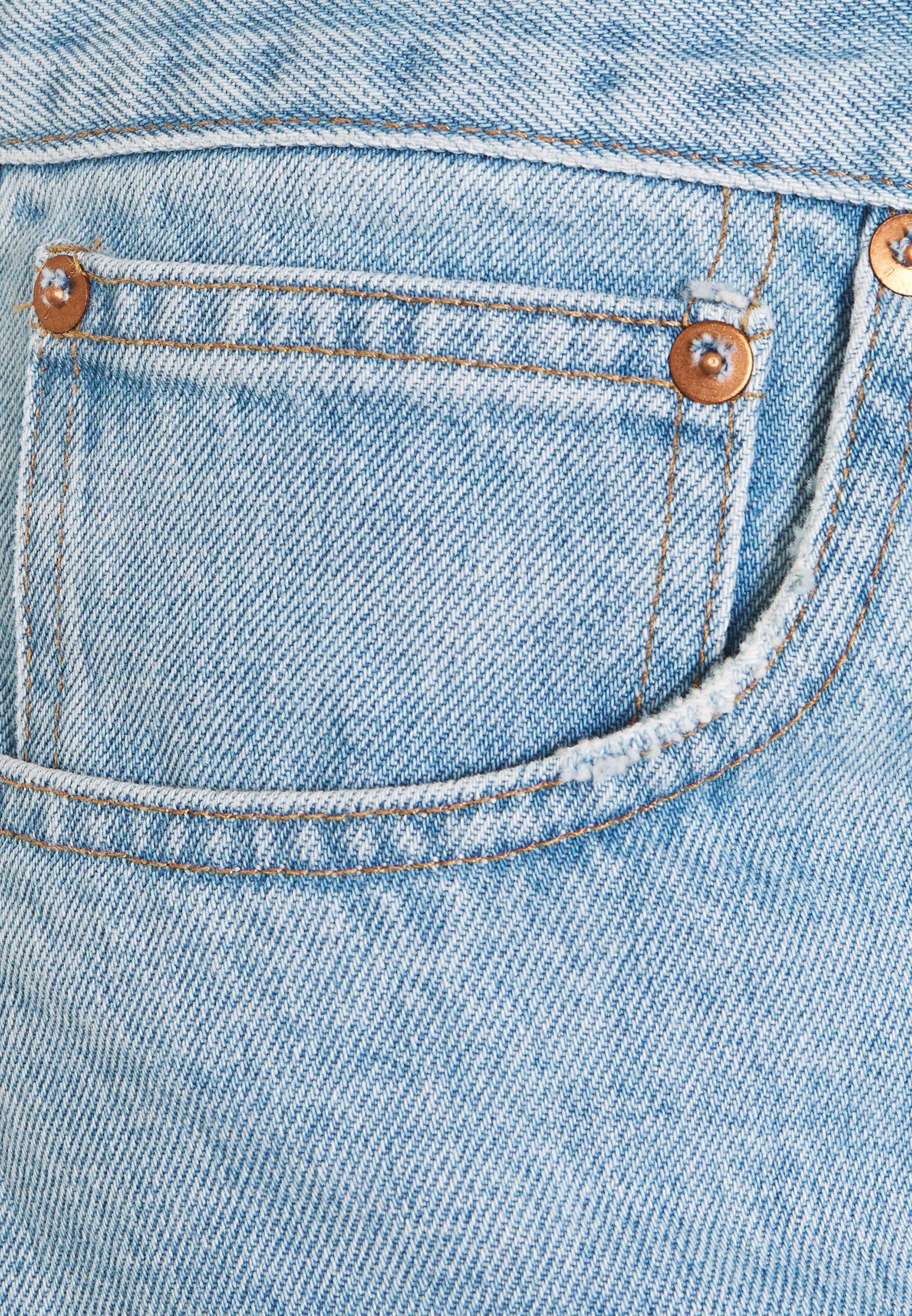 Madewell Rigid Boy Short - Farkkushortsit Light-blue Denim