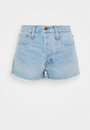 RIGID BOY SHORT  - Džínové kraťasy - light-blue denim