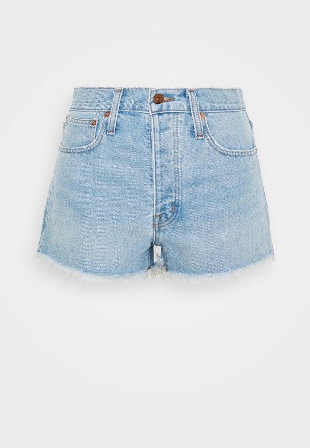 RIGID BOY SHORT  - Szorty jeansowe - light-blue denim