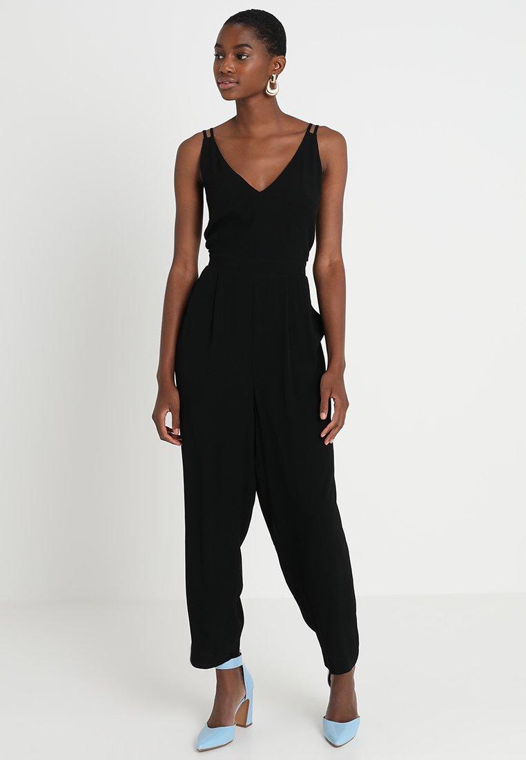 Madewell - SOLID V-NECK - Jumpsuit - true black