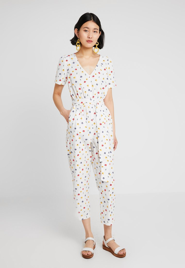 Madewell - PUFF TAPERED KIMONO FLORAL - Jumpsuit - kimono floral
