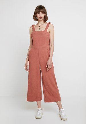 TEXTURE & THREAD RUFFLE STRAP - Overall / Jumpsuit - sweet dhalia