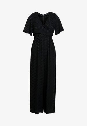 WRAP IN DOT - Tuta jumpsuit - true black