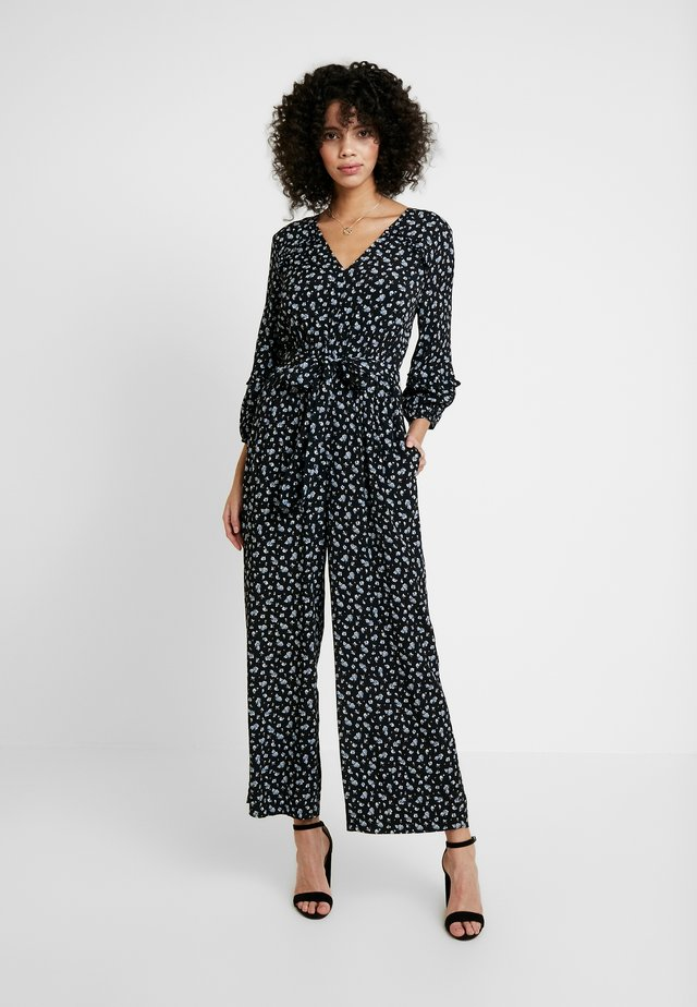 WRAPIN BABY'S BREATH - Overall / Jumpsuit /Buksedragter - true black