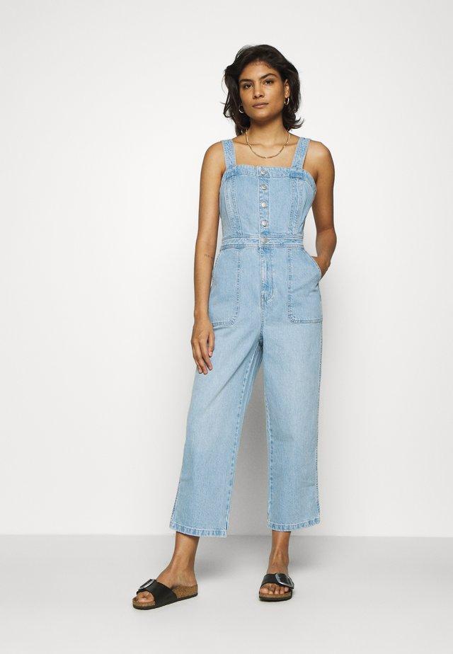 Overall / Jumpsuit - light blue