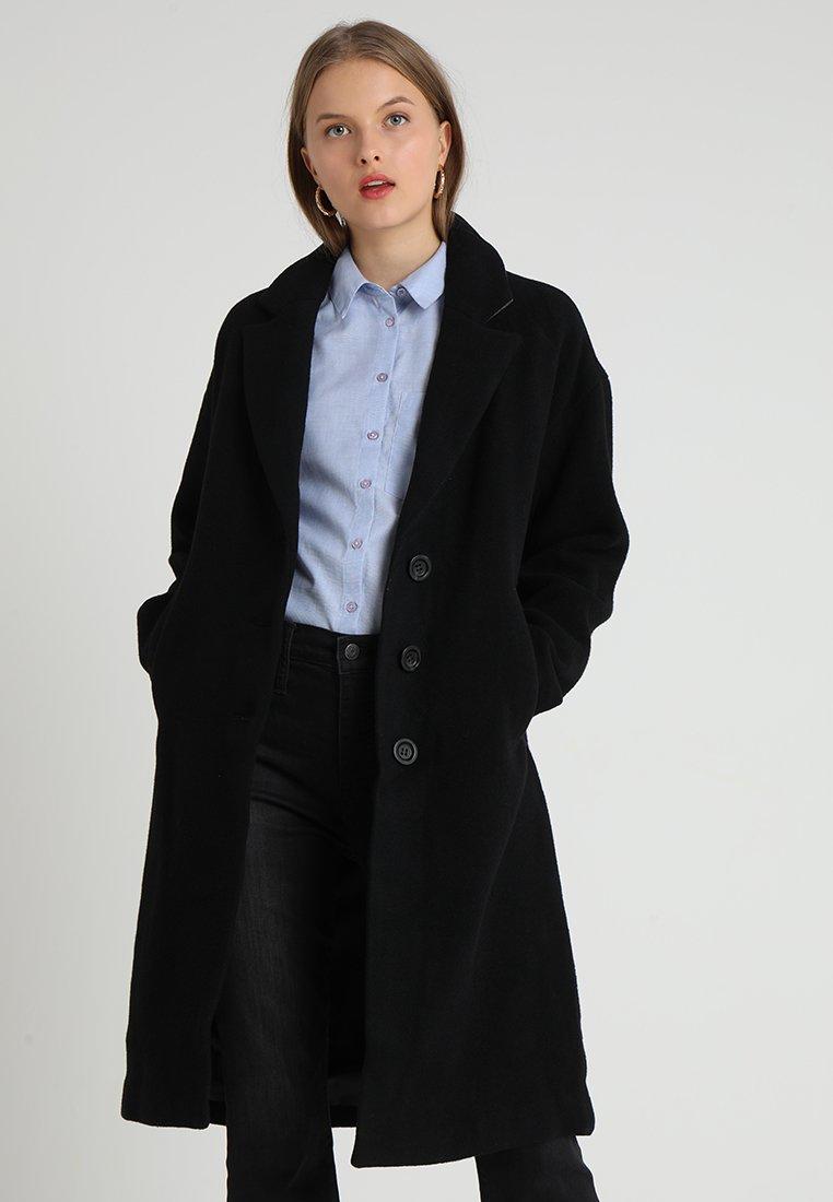 Madewell - LONG COCOON COAT - Mantel - true black