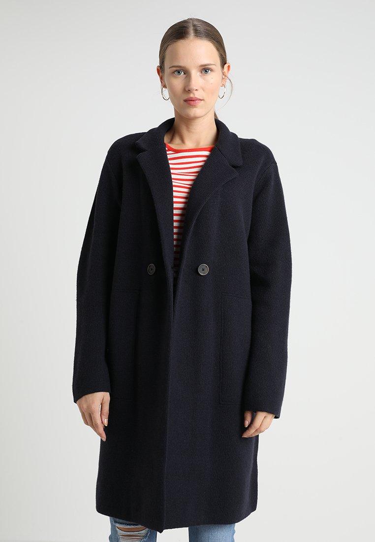 Madewell - BELLFLOWER DOUBLE BUTTON COAT - Classic coat - nautical black