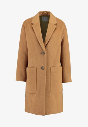 UPDATED MONSIEUR COAT - Classic coat - melange camel