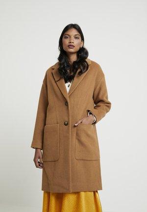 UPDATED MONSIEUR COAT - Classic coat - melange camel