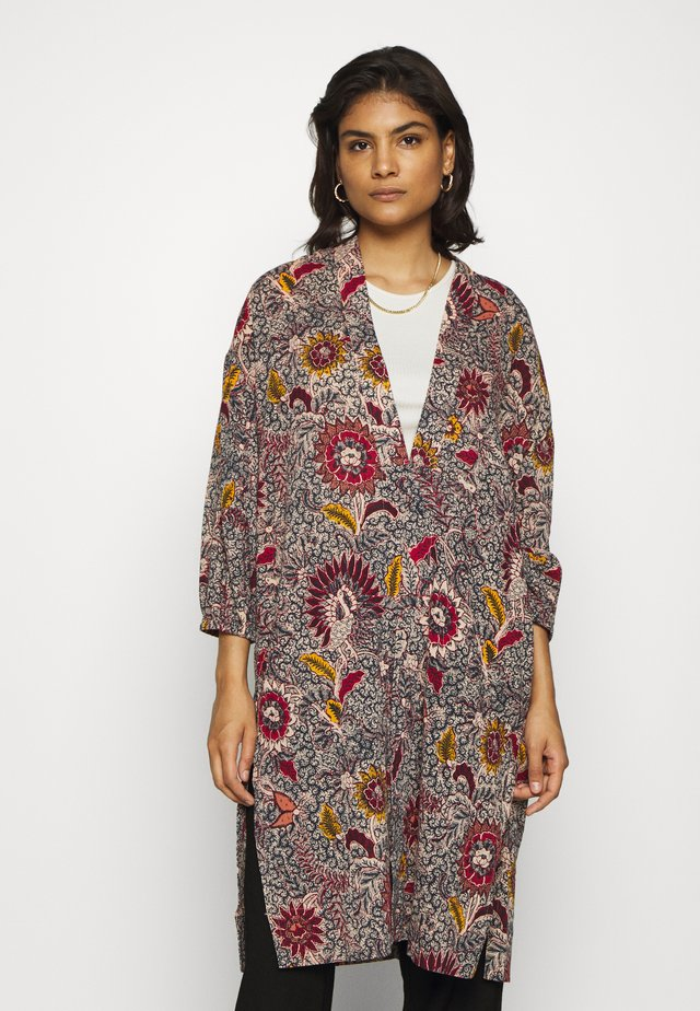 PRINTED ROBE - Giacca leggera - dark baltic