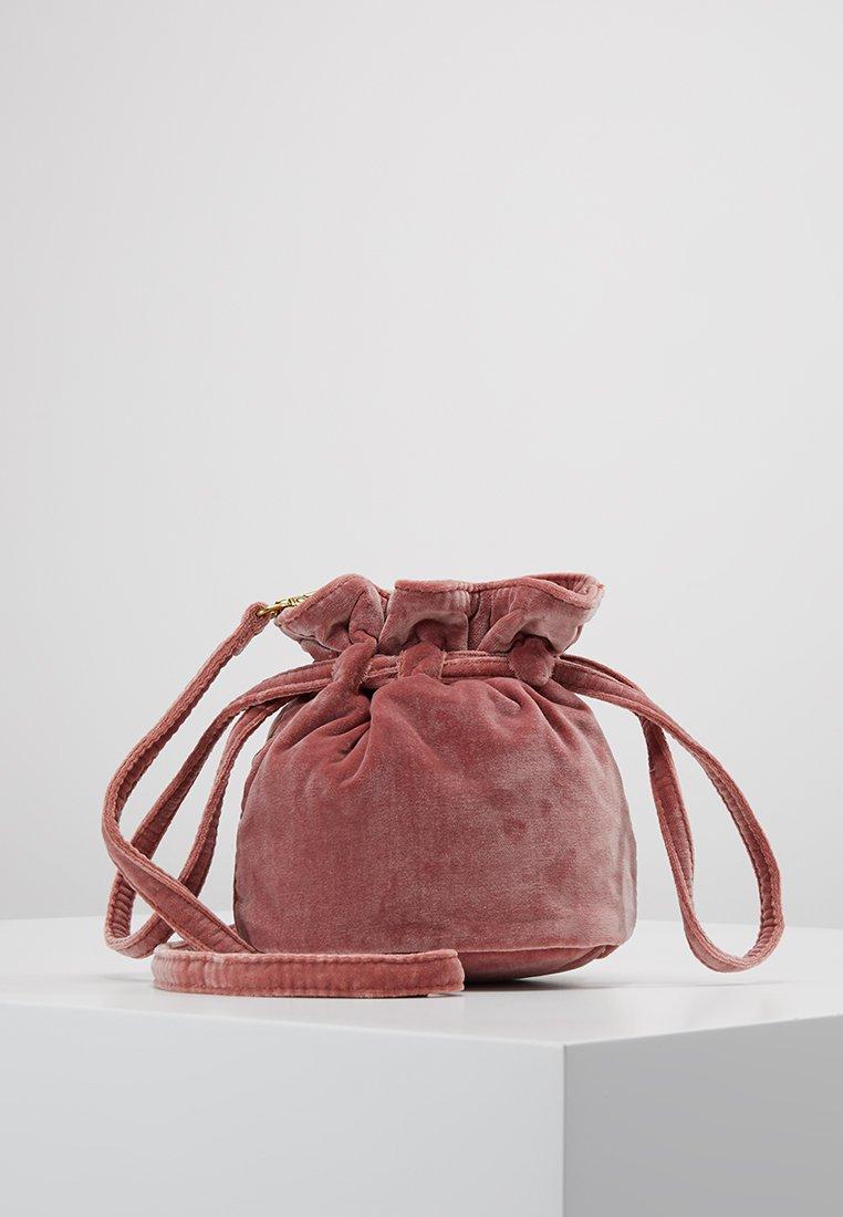 Madewell - DRAWCORD  MINI CROSSBODY - Sac à main - pink