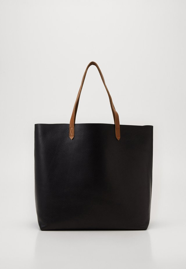 THE TRANSPORT TOTE - Velká kabelka - true black/brown