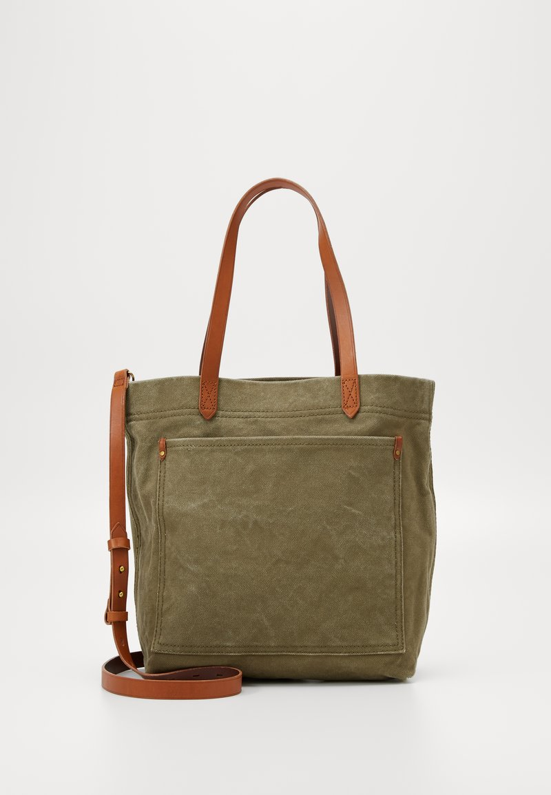 Madewell - THE MEDIUM TRANSPORT TOTE - Velká kabelka - british surplus
