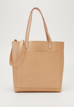 MEDIUM TRANSPORT VACHETTA - Shopping Bag - ashen sand