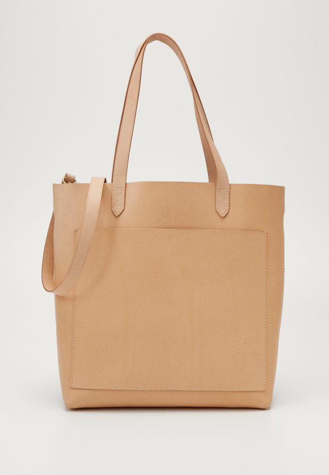 MEDIUM TRANSPORT VACHETTA - Tote bag - ashen sand