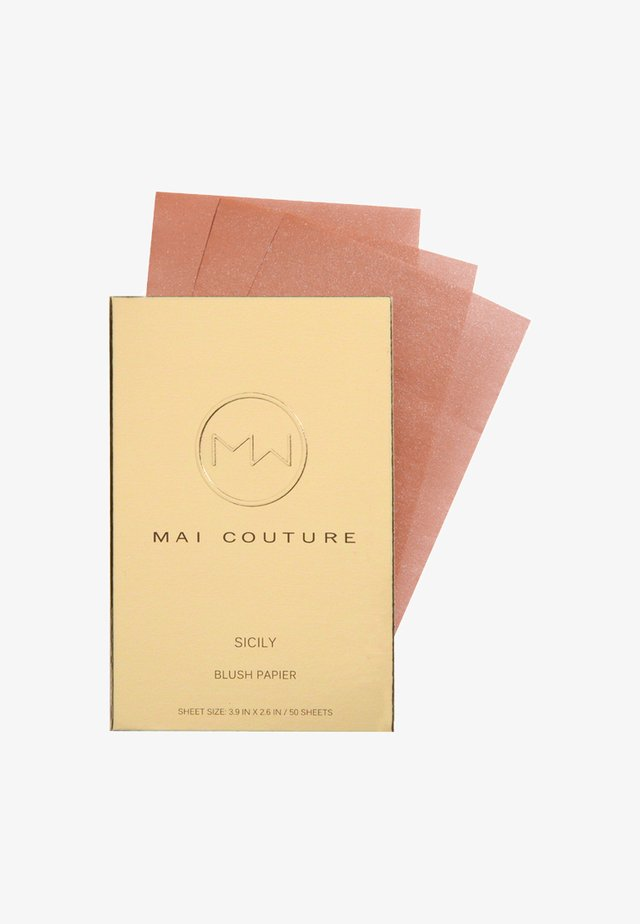 BLUSH PAPER 50 SHEETS - Rouge - sicily