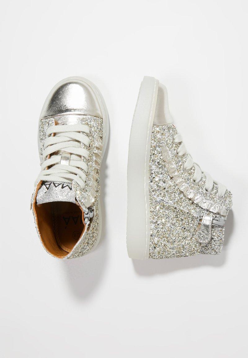 MAÁ - Sneakers hoog - princess silver