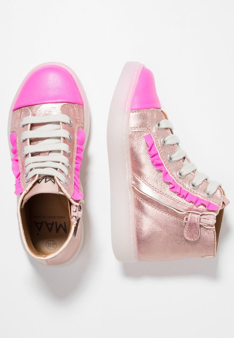 MAÁ - Sneakers hoog - fuchsia