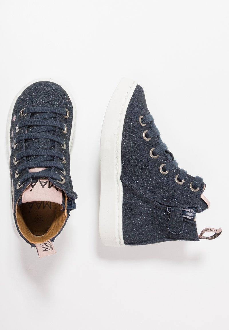 MAÁ - CAILLECH ZAFINO - High-top trainers - blau glitter